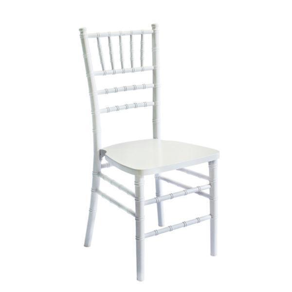 Аренда стула Кьявари белого (Chiavari)
