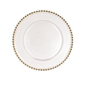 Тарелка Версаль серебро