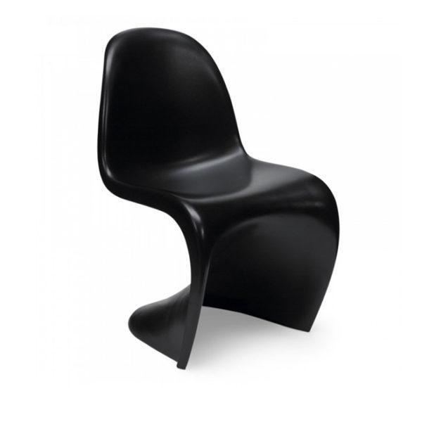 Стул Panton Chair черный в аренду