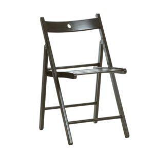 Складной стул Терье черный
