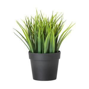 Искусственное растение в горшке