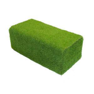 Пуф из травы газонной