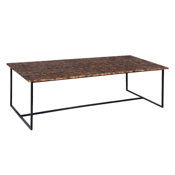 Стол деревянный LOFT темный