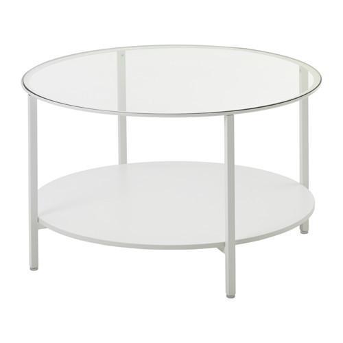 белый стеклянный стол в аренду