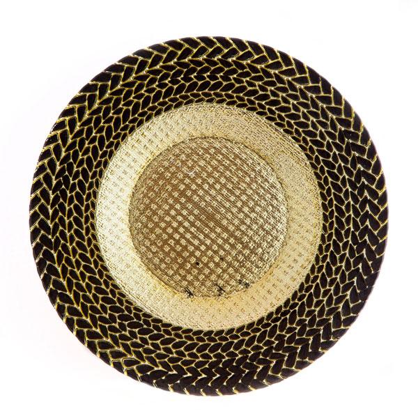 тарелка колосок черное золото