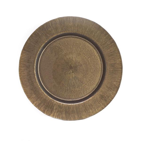 бронзовая тарелка текстура