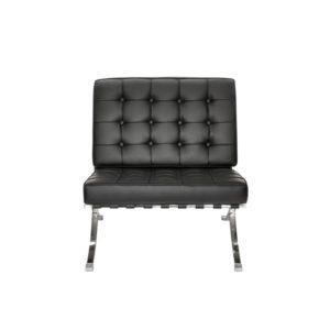 Кресло черное Barcelona Black