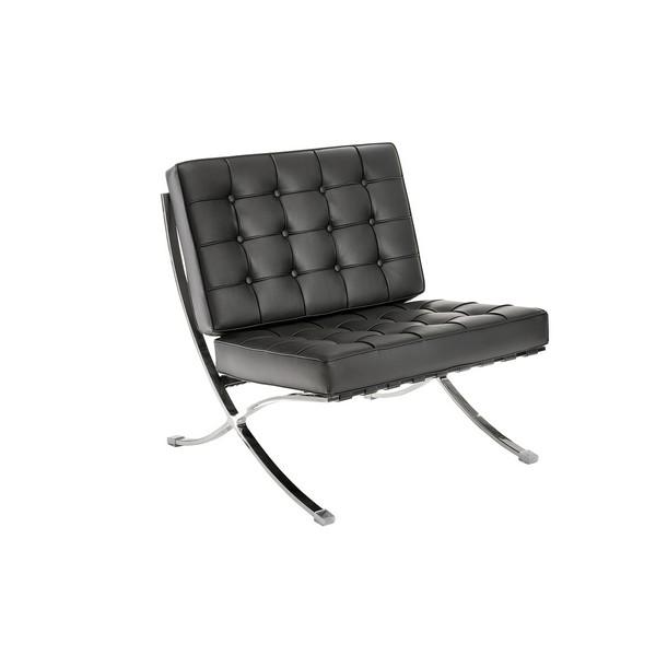 Аренда кресла черного Barcelona Black