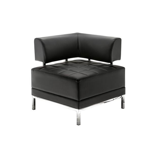 аренда модульного дивана Module Black Angle Sofa