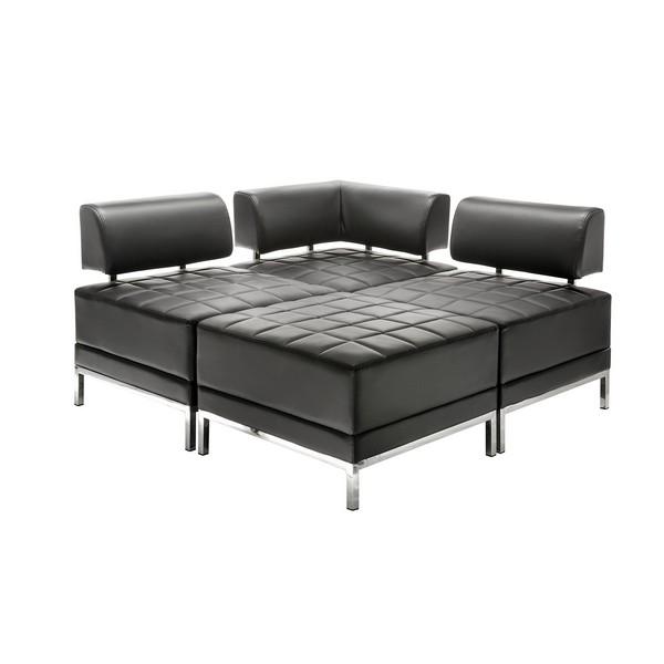 аренда дивана Module Black Sofa