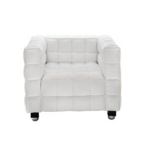 Кресло белое Kubus White