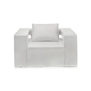 Кресло белое Hi-Tech White