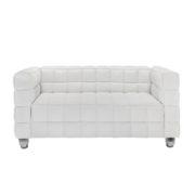 Диван 2-местный Kubus White Sofa