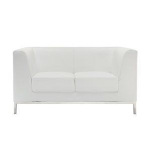 Диван 2-местный President White Sofa