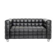 Диван 2-местный Kubus Black Sofa