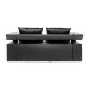 Диван 2-местный Hi-Tech Black Sofa