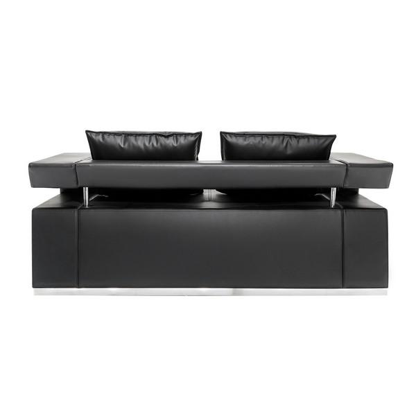 Hi-Tech Black Sofa диван 2-местный напрокат