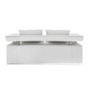 Диван 2-местный Hi-Tech White Sofa