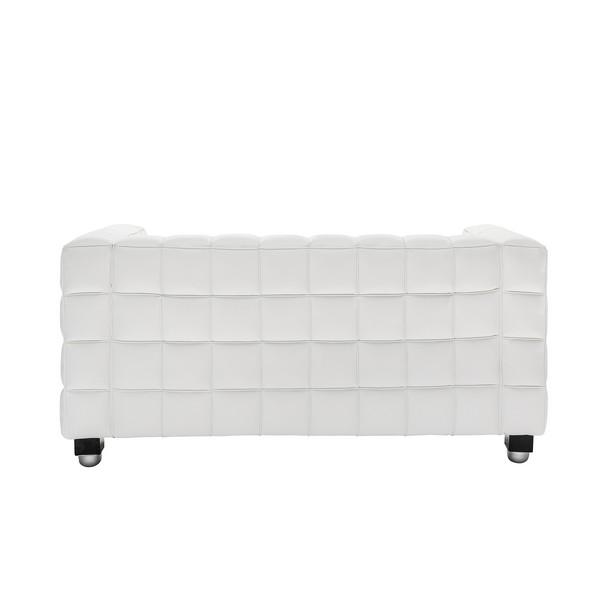 Kubus White Sofa 2-местный диван в аренду
