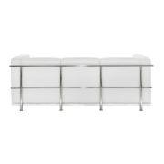 Диван 3-местный Chrome White Sofa