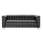 Диван 3-местный Kubus Black Sofa