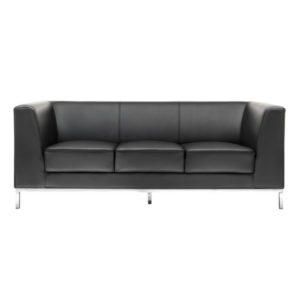 Диван 3-местный President Black Sofa