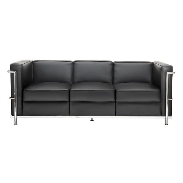 Аренда дивана Chrome Black Sofa
