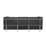 Диван 3-местный Chrome Black Sofa