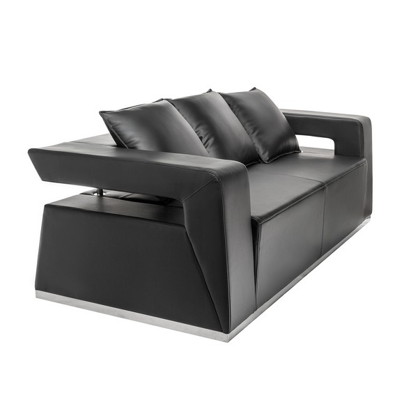 аренда Hi-Tech Black Sofa