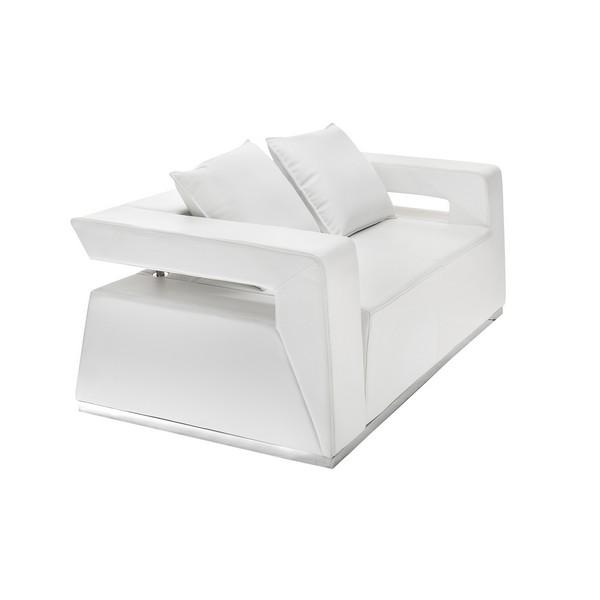 аренда дивана Hi-Tech White Sofa