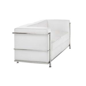Диван 2-местный Chrome White Sofa