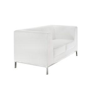 Диван 3-местный President White Sofa