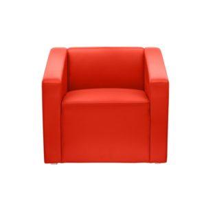 Кресло красное Red Square