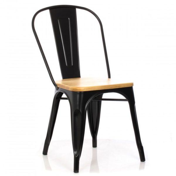 Аренда стула Tolix черного цвета