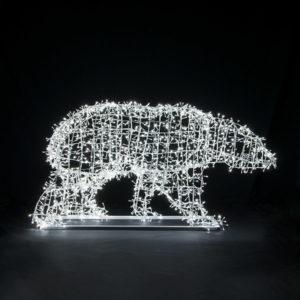 Объемная световая фигура Медведя