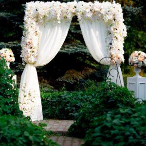 Арка для свадебной регистрации