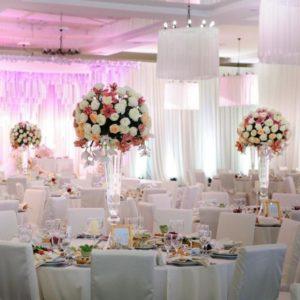 Цветочный декор свадьбы