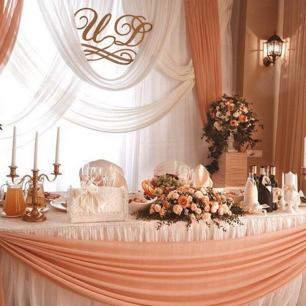 Декор столов на свадьбу - на заказ - Москва