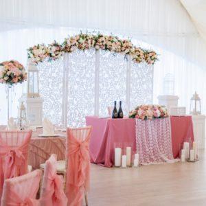 Декор зала на свадьбу