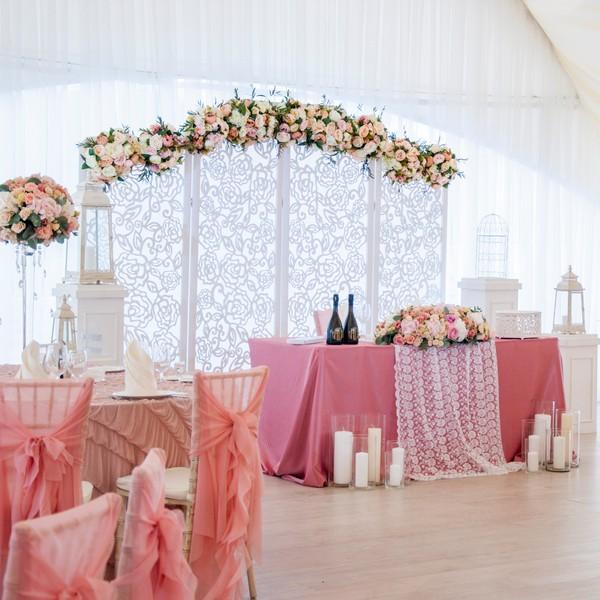 Декор зала на свадьбу на заказ - Москва